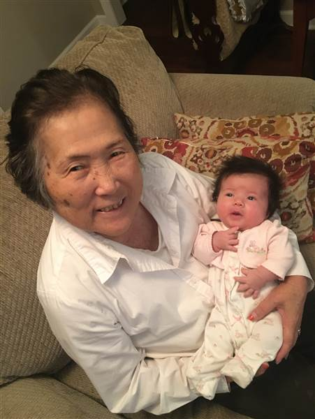 Setsuko Harmon and Sadie