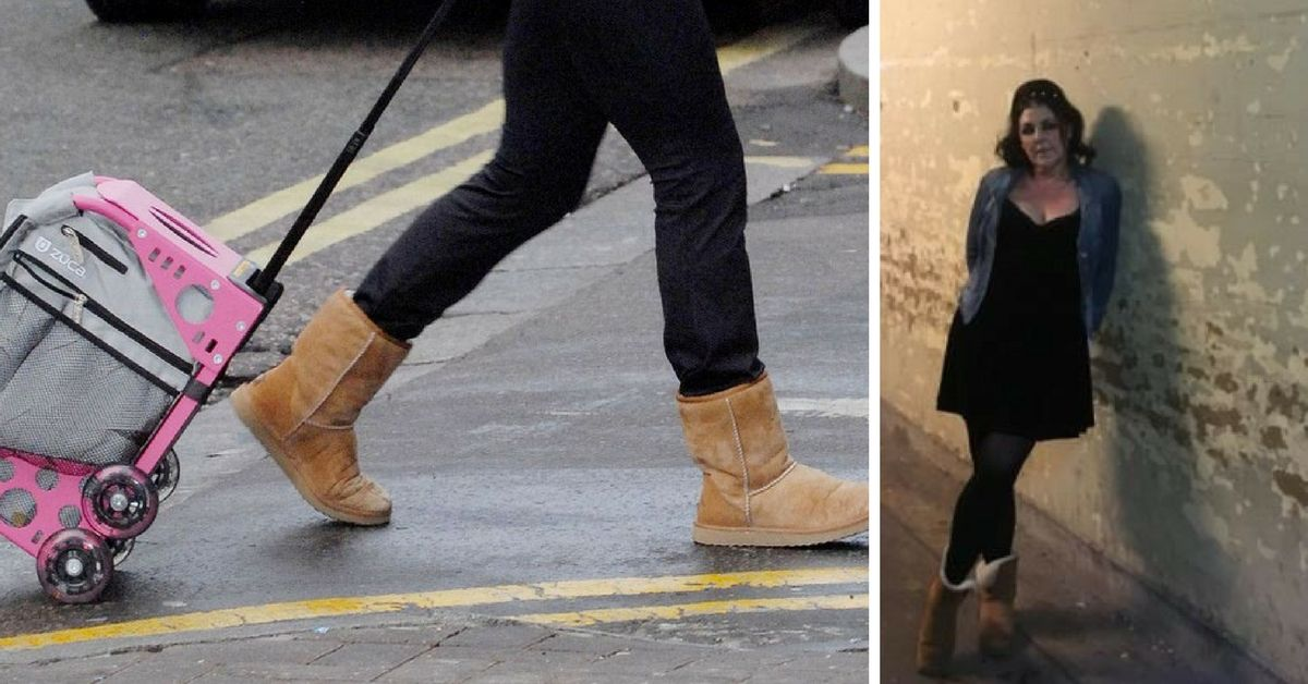 636821008e7 Woman Kicked Out Of Lounge Area Because She Was Wearing Ugg Boots