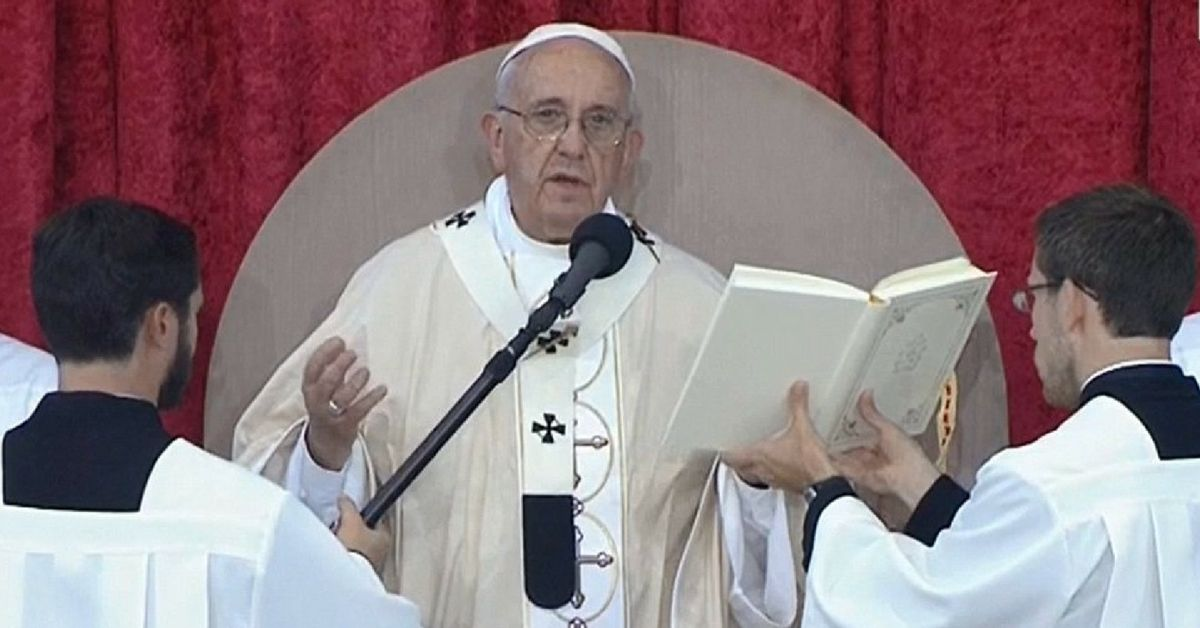 """Pope Francis Wants To Change The """"Our Father"""" Prayer"""