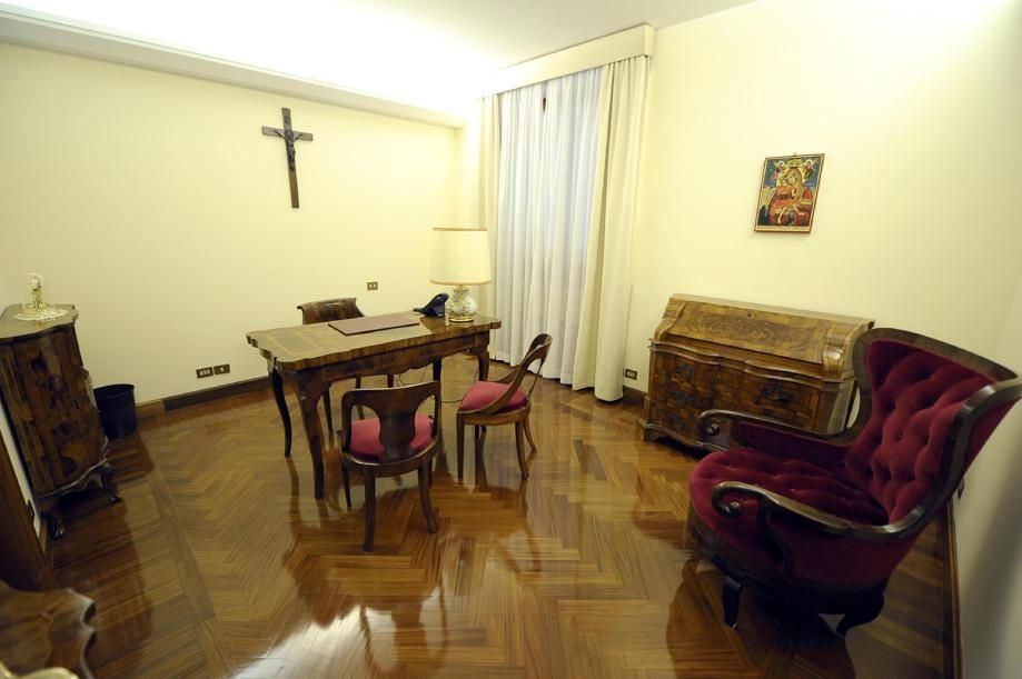 Pope Francis's tiny apartment