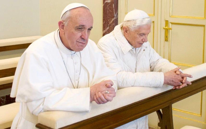 Pope Francis and Benedict XVI