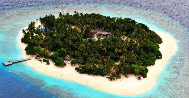 Nicolas Cage's private island