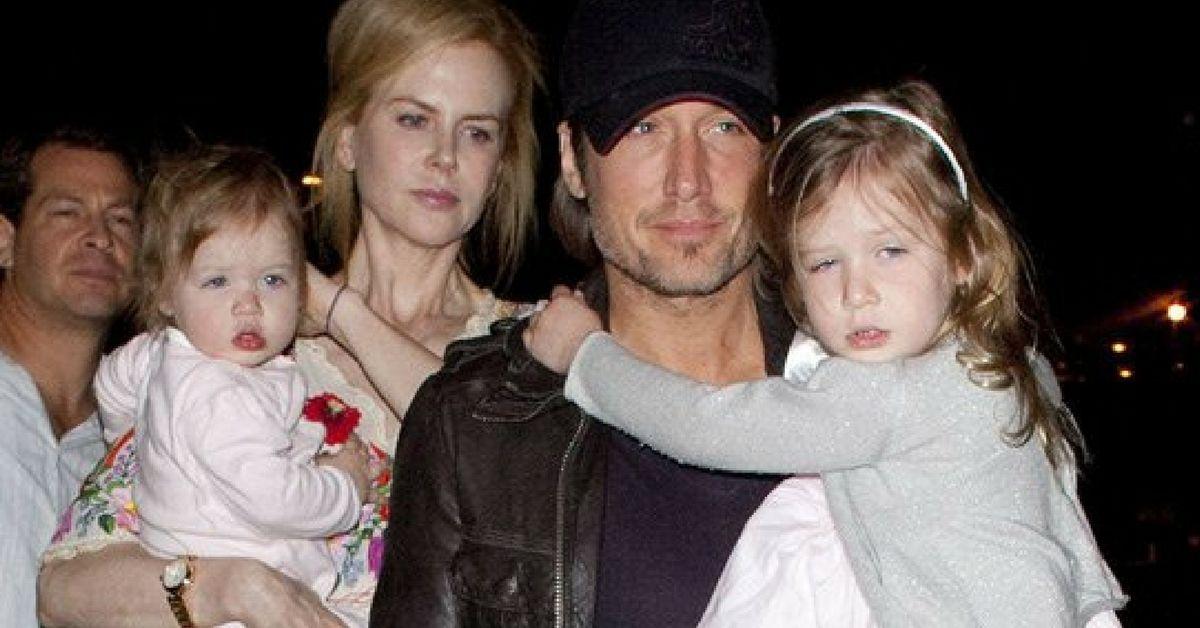 Nicole Kidman Admits She Barely Knew Keith Urban On: Nicole Kidman And Keith Urban's Daughters Make Rare Public