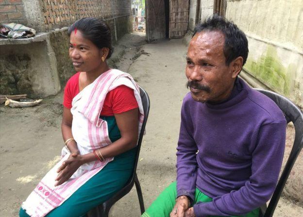 Anil and Shewali Boro