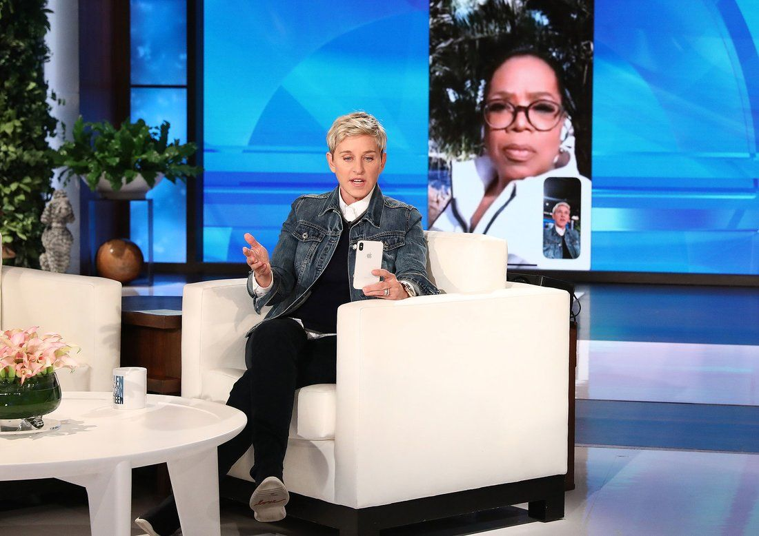 Ellen DeGeneres and Oprah