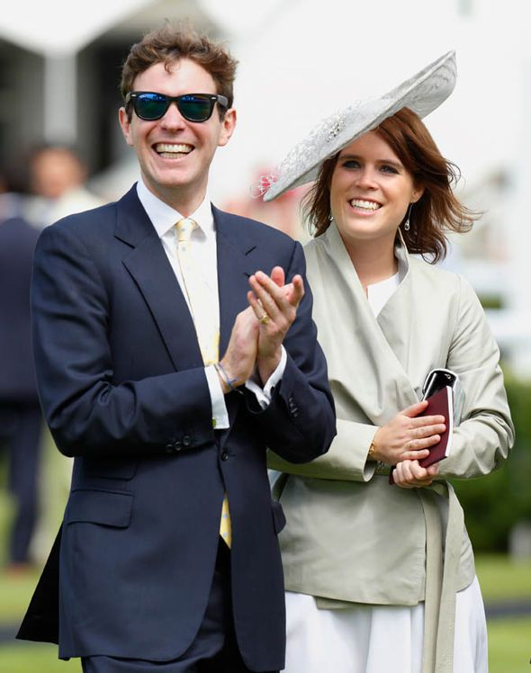 Princess Eugenie and Jack Brookbank