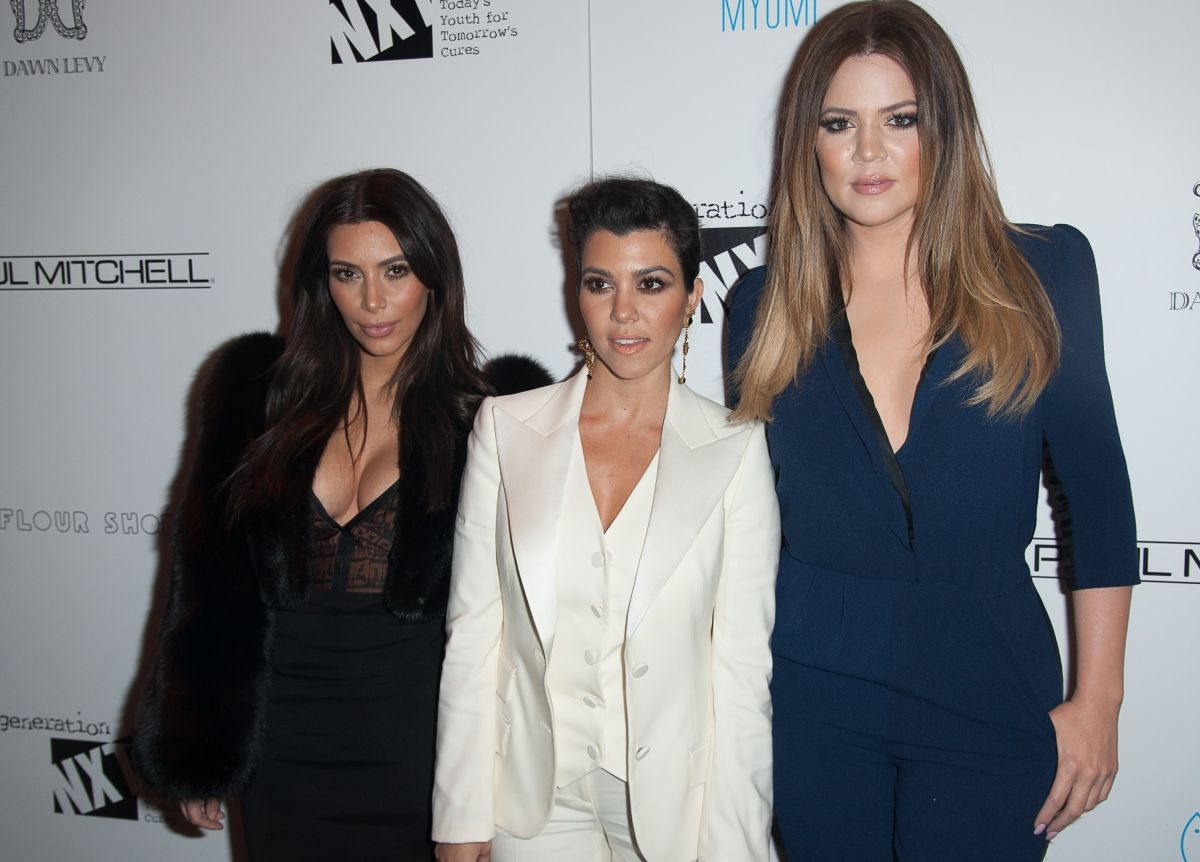 Kim, Kourtney, and Khloe