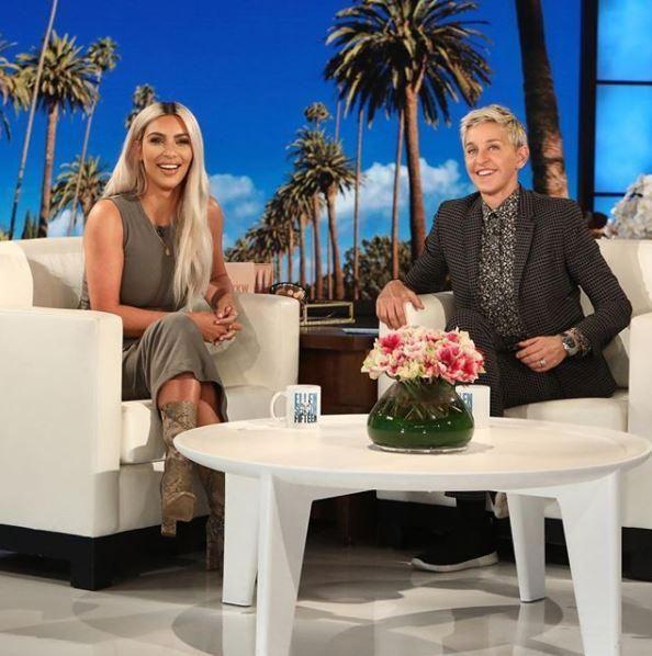 Kim Kardashian on The Ellen DeGeneres Show