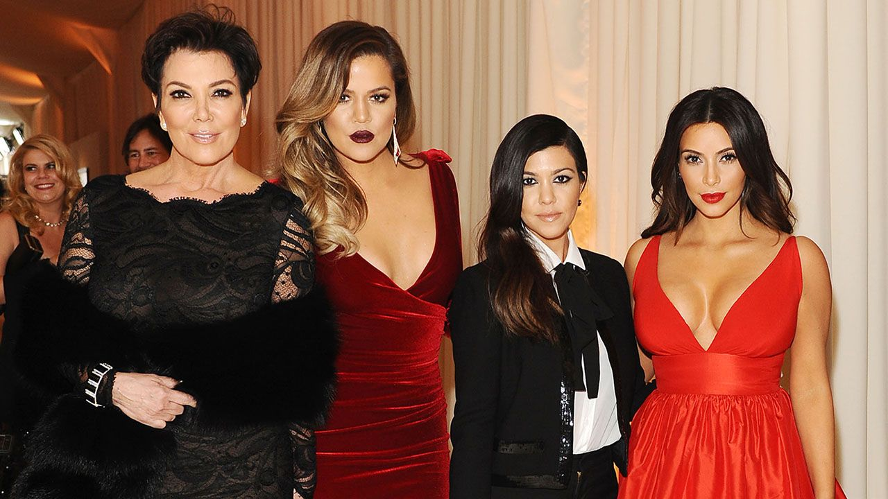 Kris, Khloe, Kourtney, and Kim