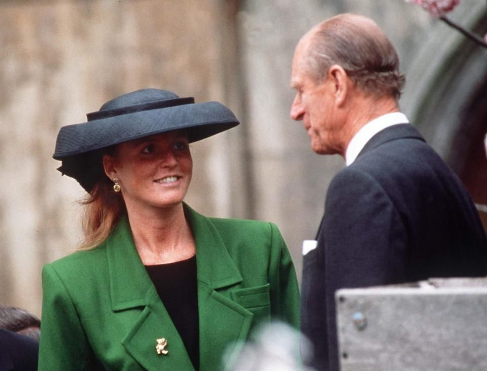 Prince Philip and Fergie