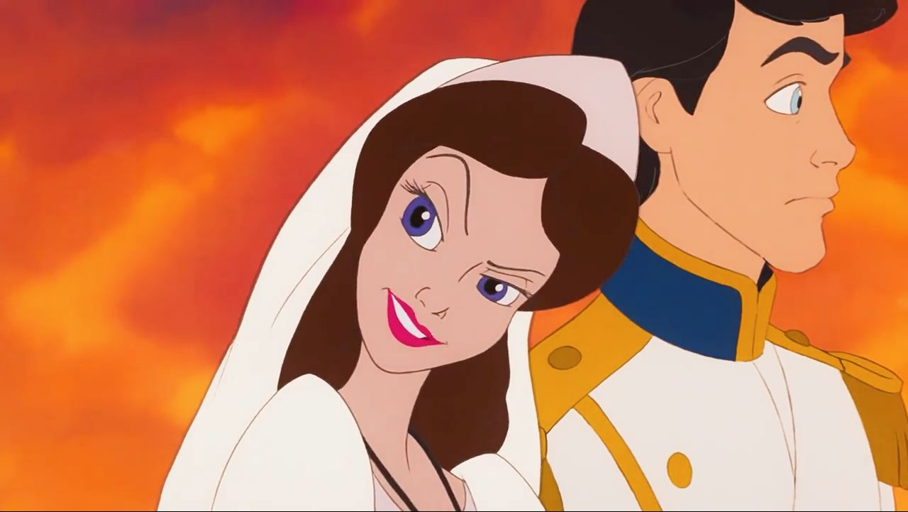 Prince Eric and Ursula