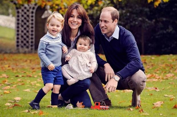 Kate, William, George, and Charlotte