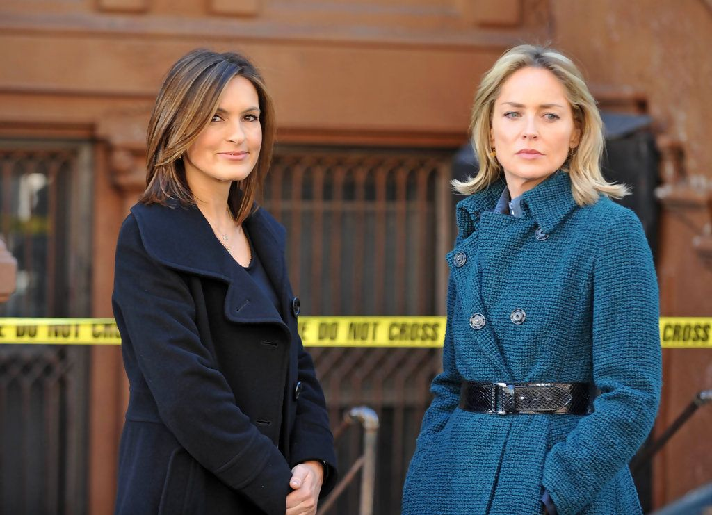 Sharon Stone on 'Law and Order: SVU'