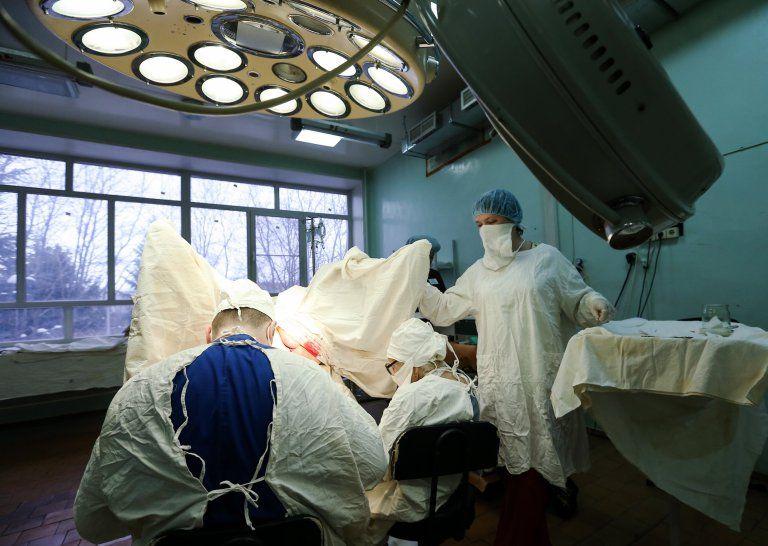 Levushkina in surgery