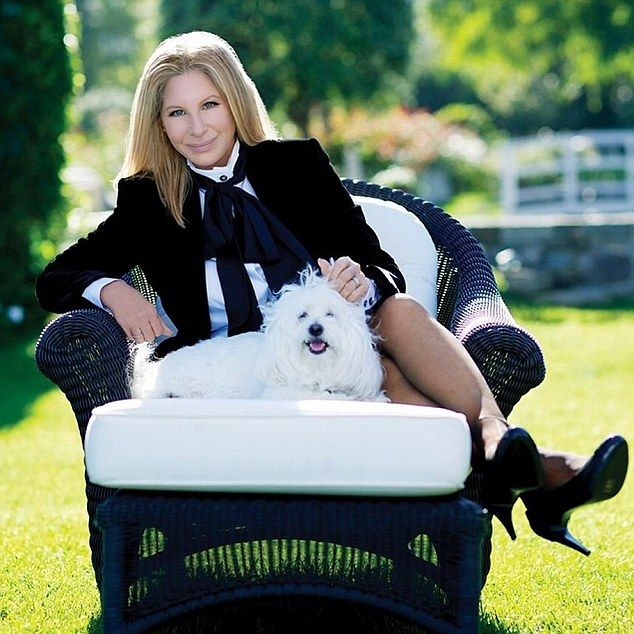 Barbra Streisand and Samantha