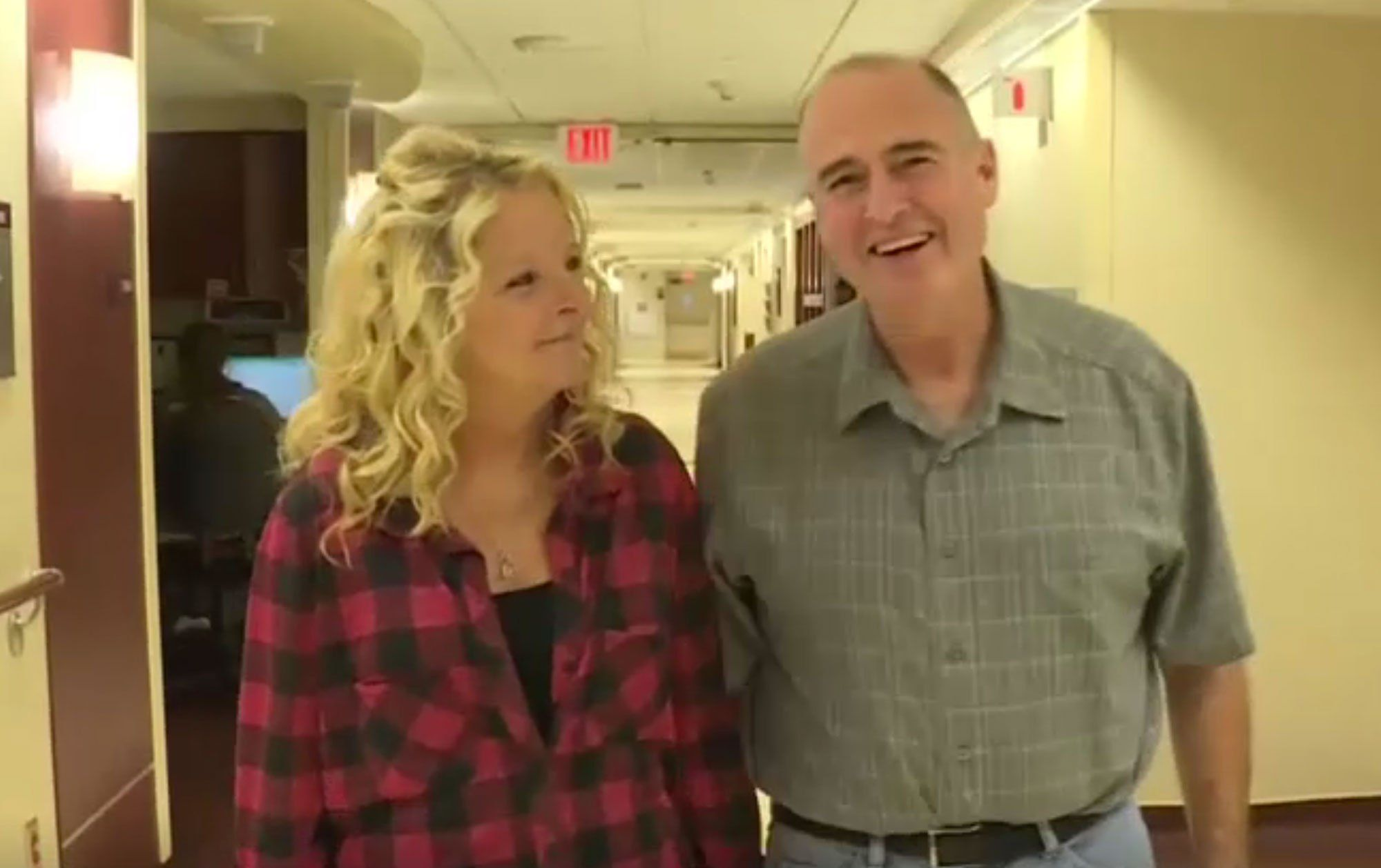Debbie Lewis and Bill Corey