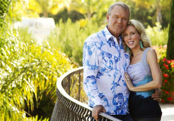 Glen Campbell and Kimberly Campbell.