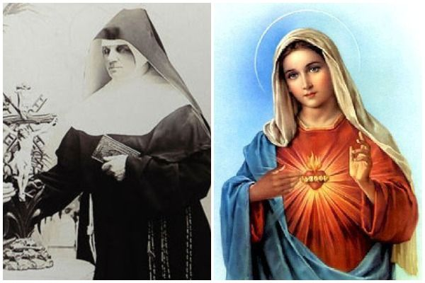 Adele Brise and the Virgin Mary
