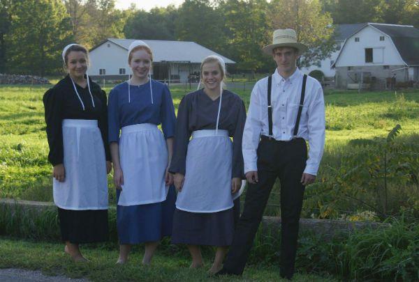 Amish clothing.