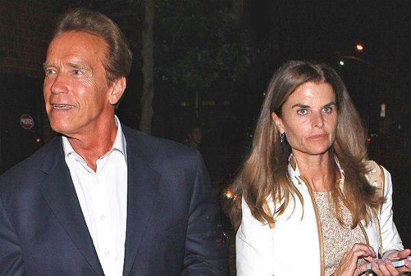 Arnold Schwarzenegger and Maria Shriver.