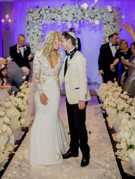 Emma Slater and Sasha Farber wedding.