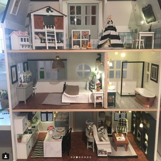 Fixer Upper dollhouse.