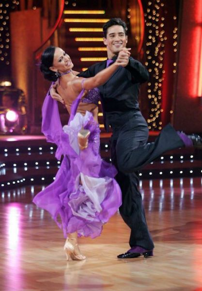 Mario Lopez and Karina Smirnoff on 'Dancing With the Stars.'