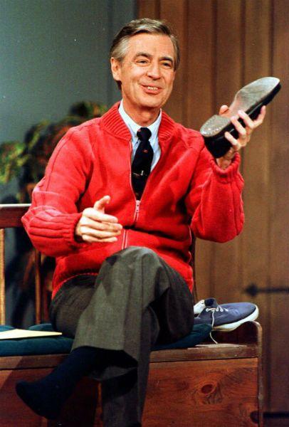 Mr. Rogers sneakers.