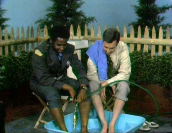 Mr. Rogers swimming pool.