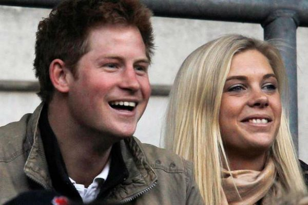 Prince Harry and Chelsy Davy.