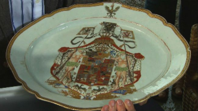 Antiques Roadshow - Prussian plate