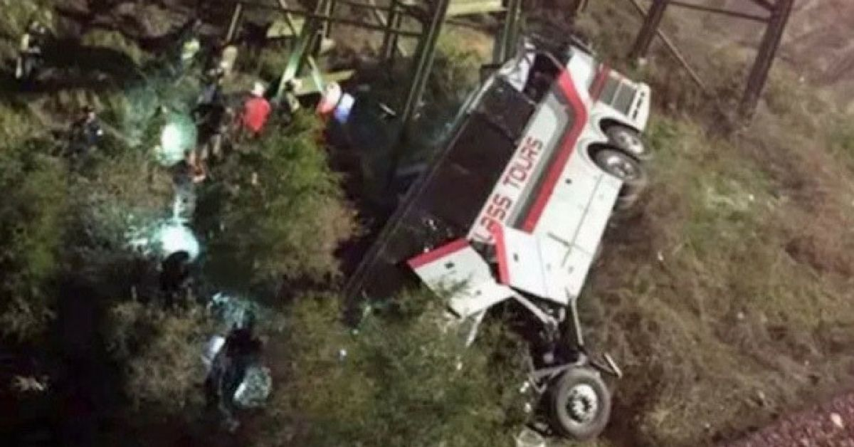 Bus Full Of Children Crashes On The Way Back From Disney World, Multiple Casualties Reported