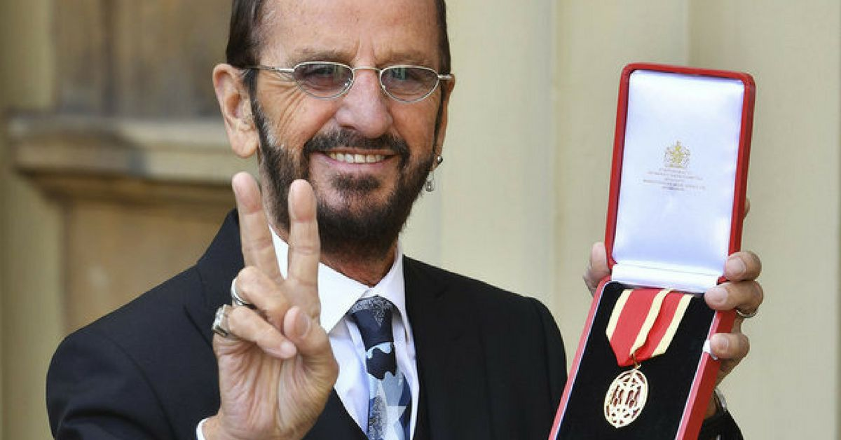 Ringo Starr Becomes Second Beatles Member To Receive Knighthood