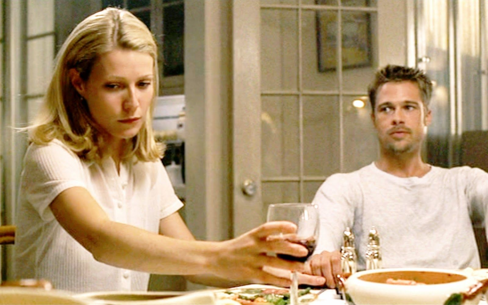 Brad Pitt and Gwyneth Paltrow in Seven