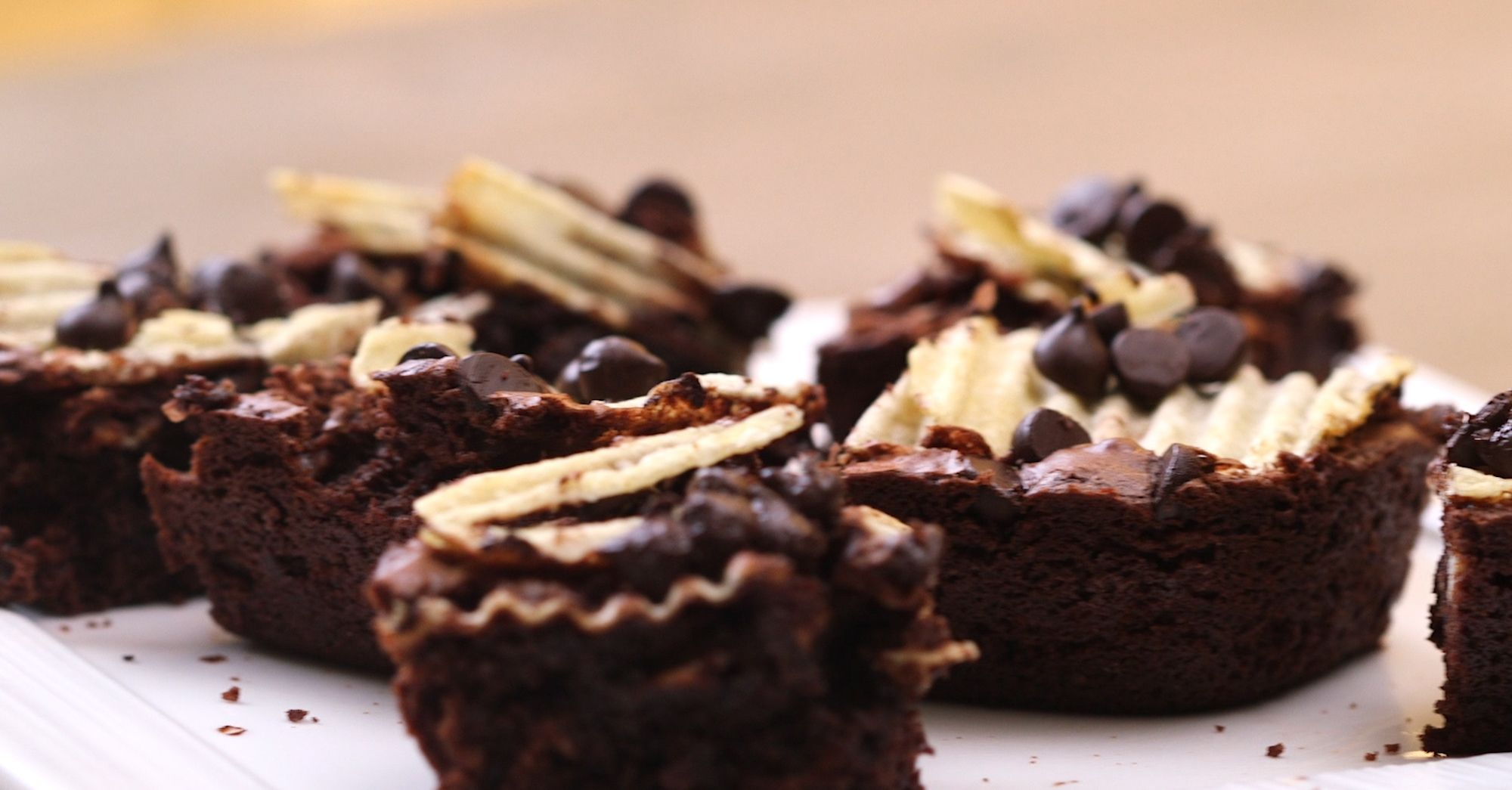 Lays Ruffled Potato Chip Brownies Are the Perfect Sweet and Salty Combination