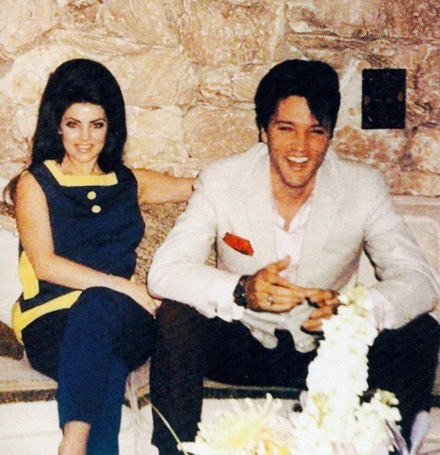 Elvis and Priscilla at the honeymoon hideaway