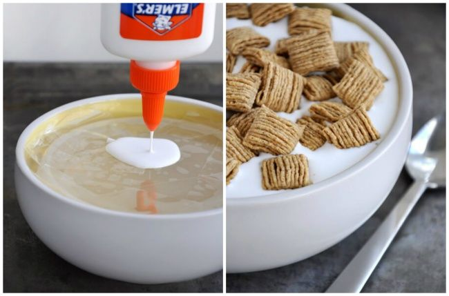 Glue used in cereal