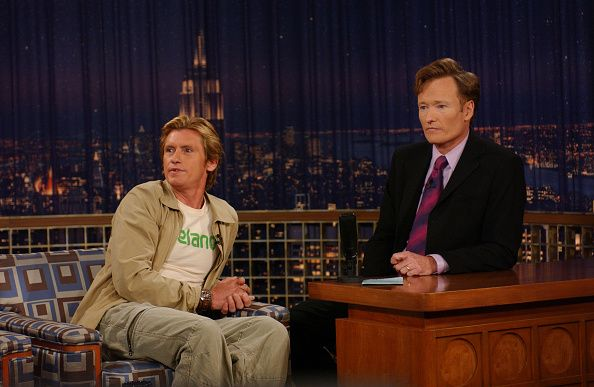 Denis Leary on Conan O'Brien's talk show