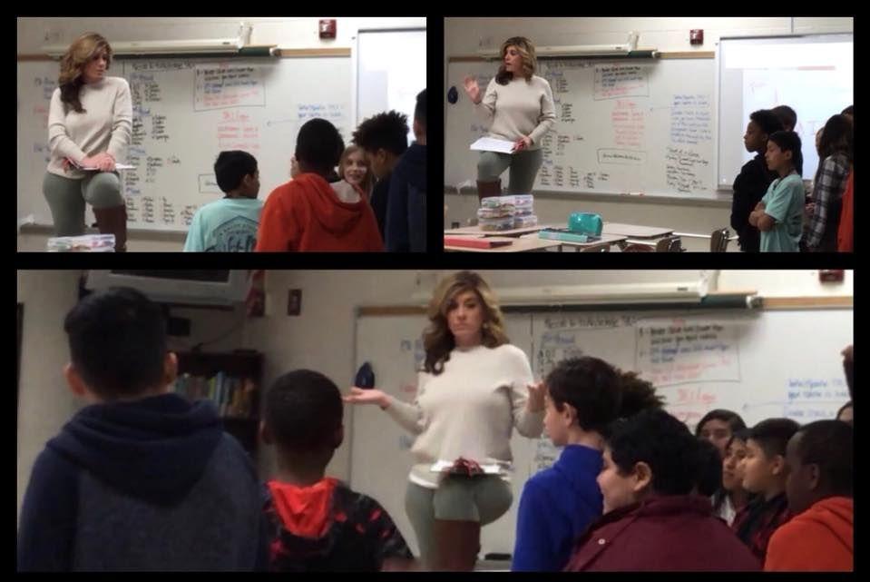 Amie Diprima Brown teaching a class