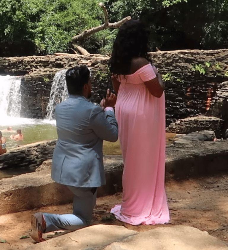The surprise proposal