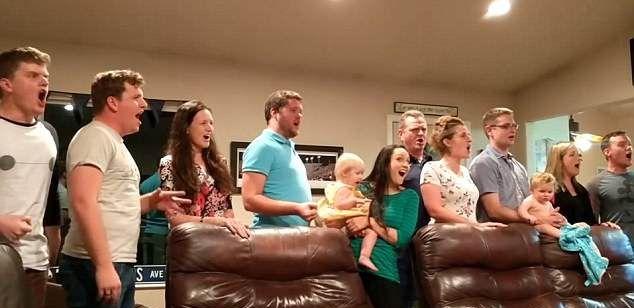 LeBaron family singing Les Miserables