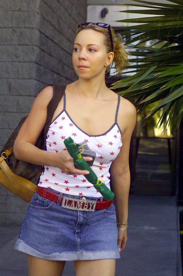 Mariah Carey in 2001