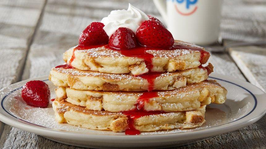 IHOP pancake stack