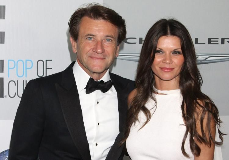 Robert Herjavec and Danielle Vasinova