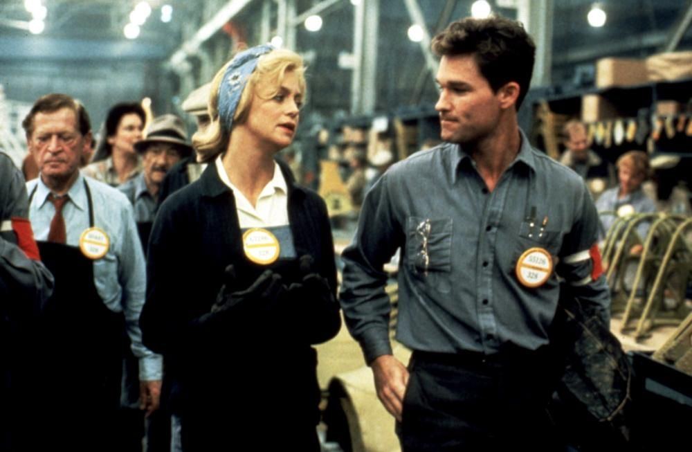 Goldie Hawn and Kurt Russell in Swing Shift