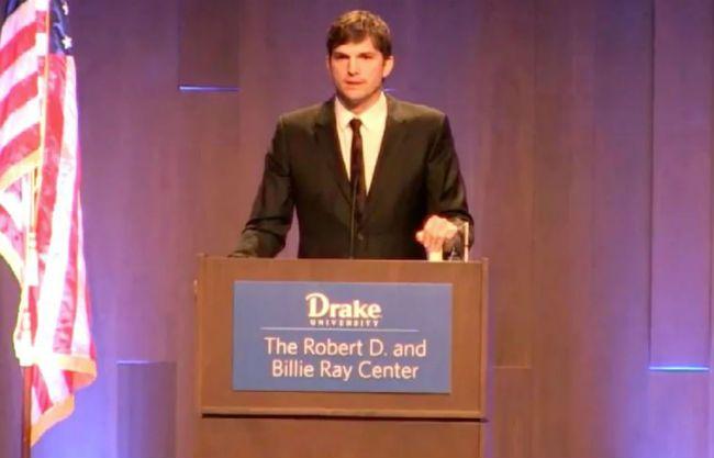 Ashton Kutcher award
