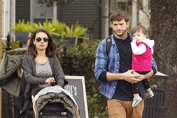 Ashton Kutcher Mila Kunis family