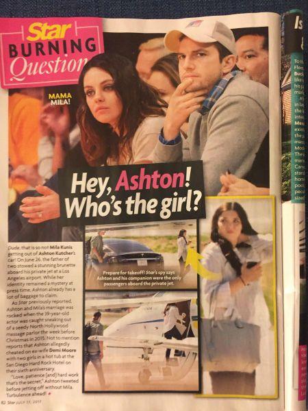 Ashton Kutcher Star Magazine