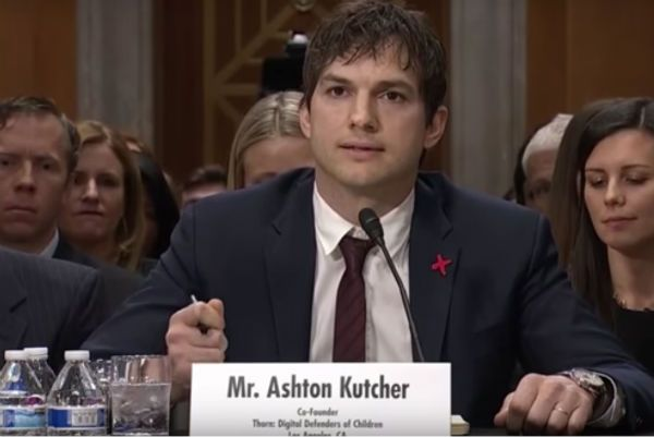 Ashton Kutcher senate