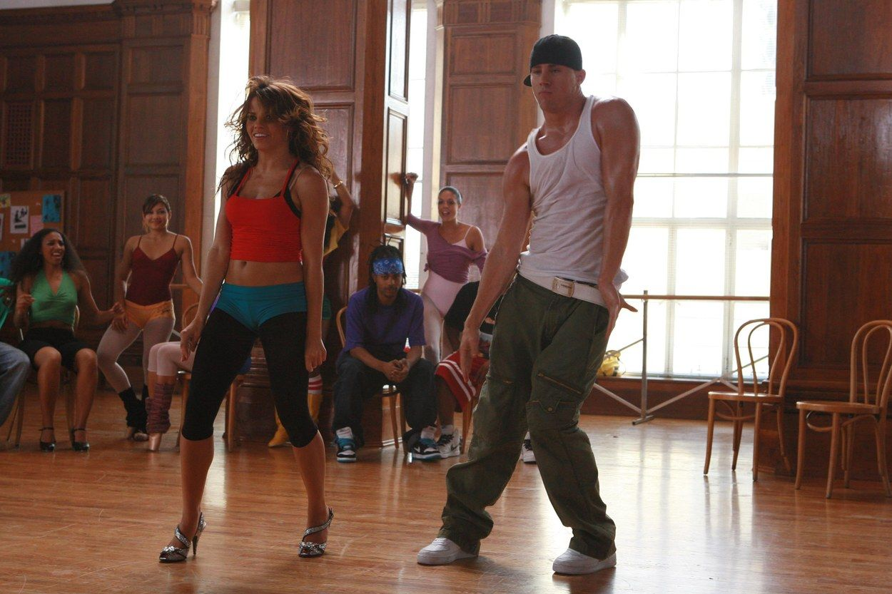 Channing Tatum and Jenna Dewan-Tatum in Step Up
